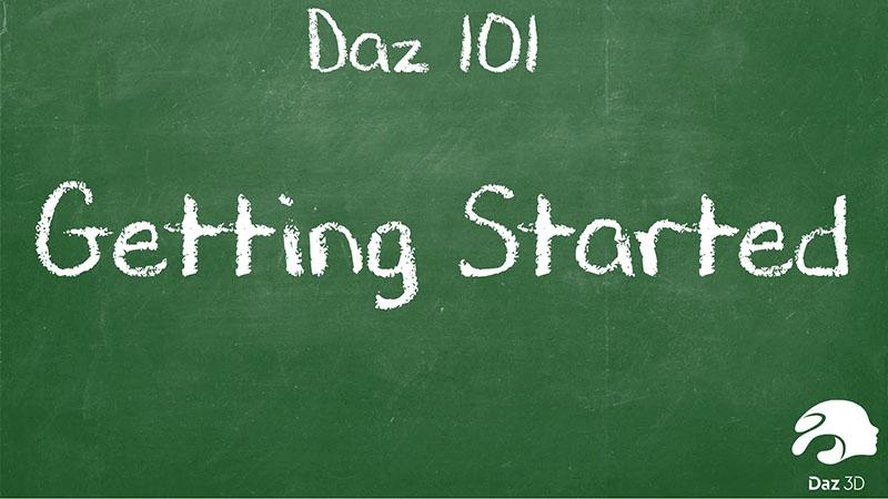 Daz 101: Начало работы в Daz Studio