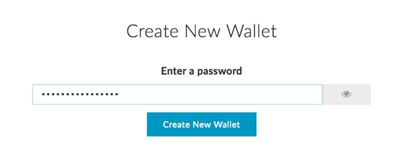 Создайте пароль