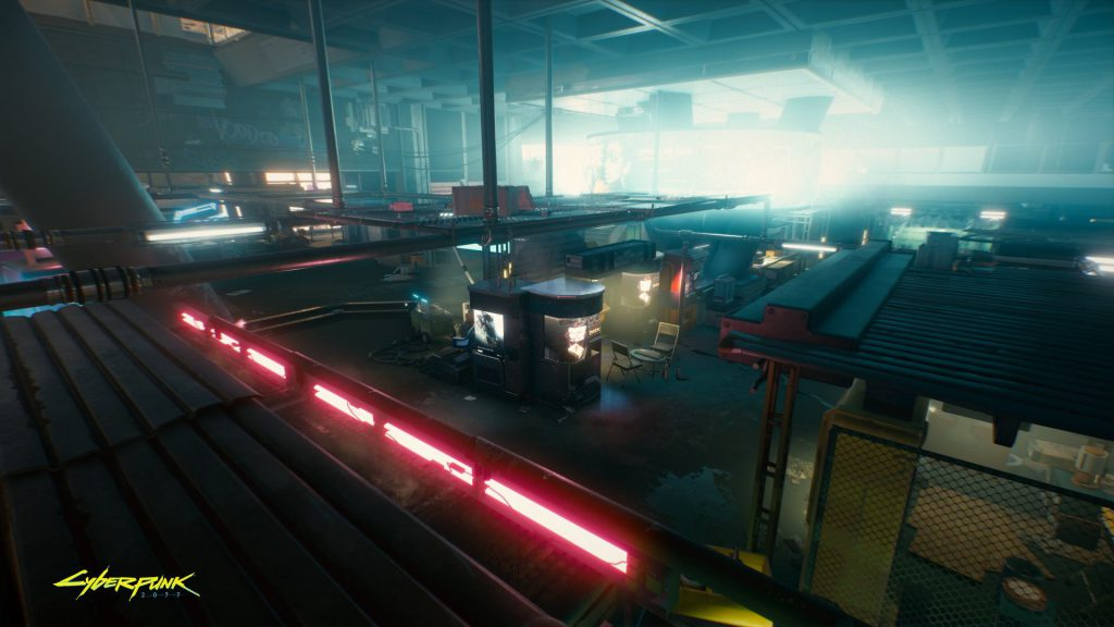 Cyberpunk 2077 Closed for the day