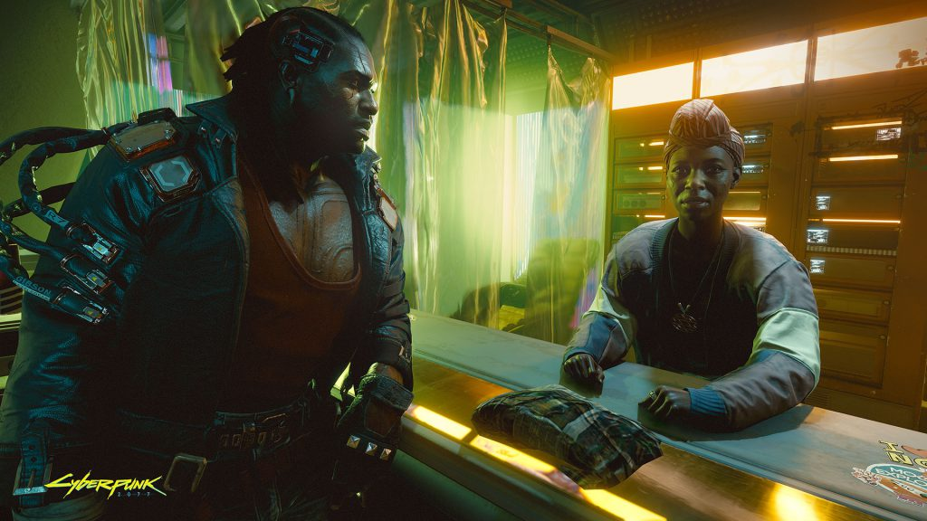 Cyberpunk 2077 Just in time for dinner