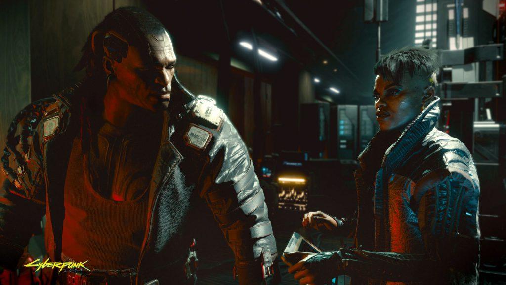 Cyberpunk 2077 Looks like someone got in trouble