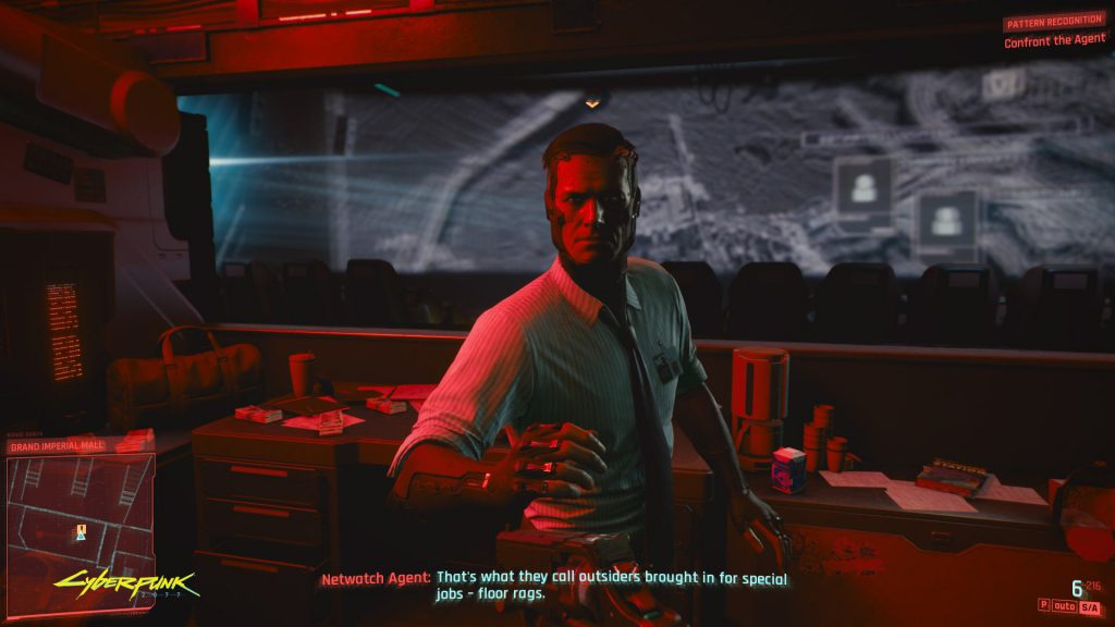 Cyberpunk 2077 Nice to meet you