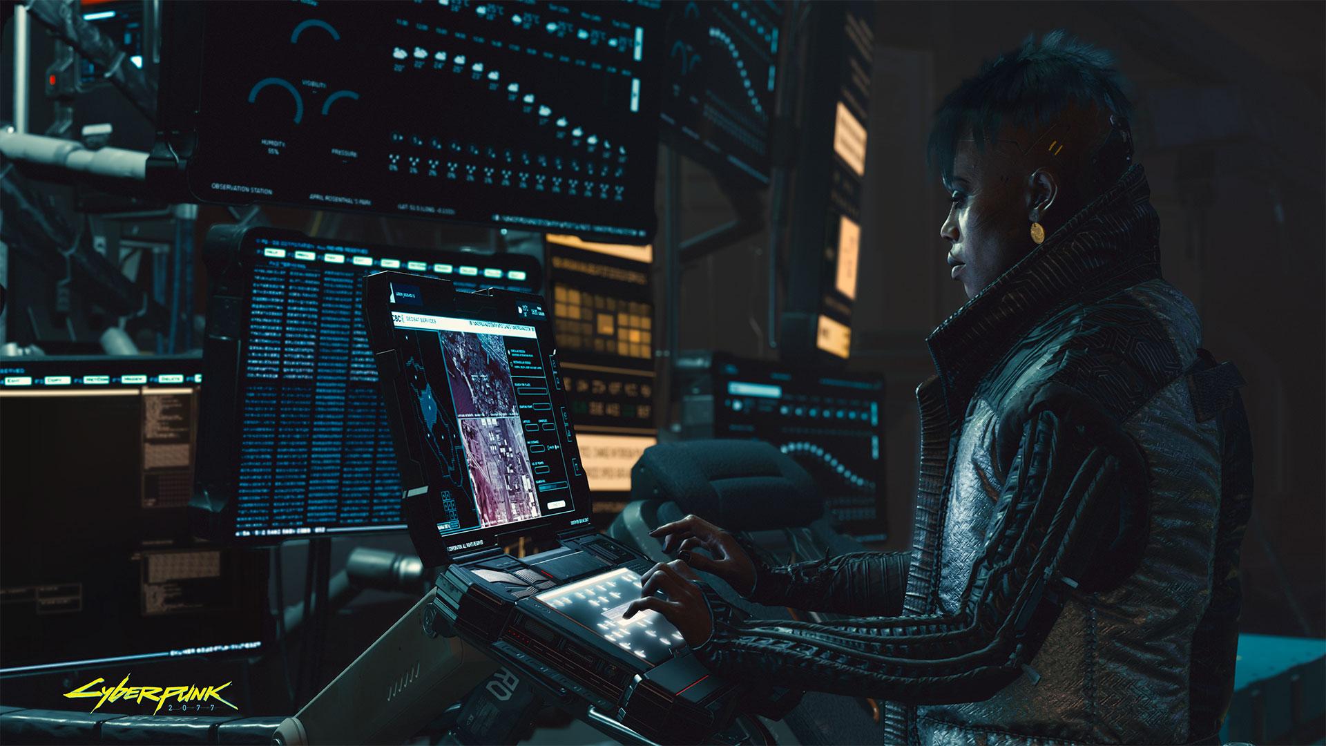 Cyberpunk 2077 Running the show