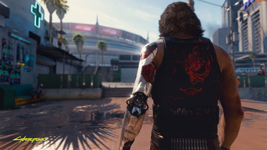 Cyberpunk 2077 The man with the silver hand