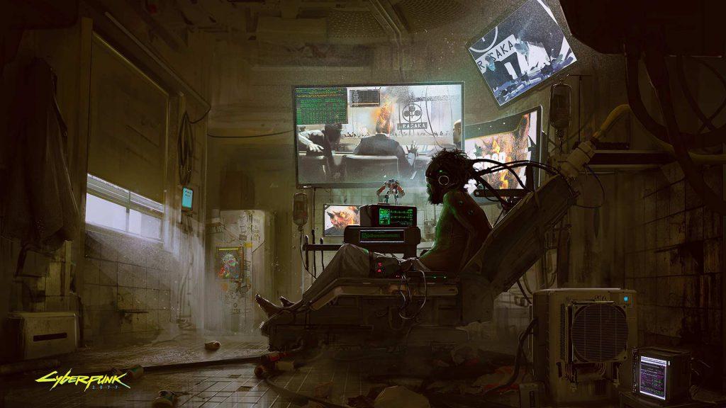 Cyberpunk 2077 Jacked in