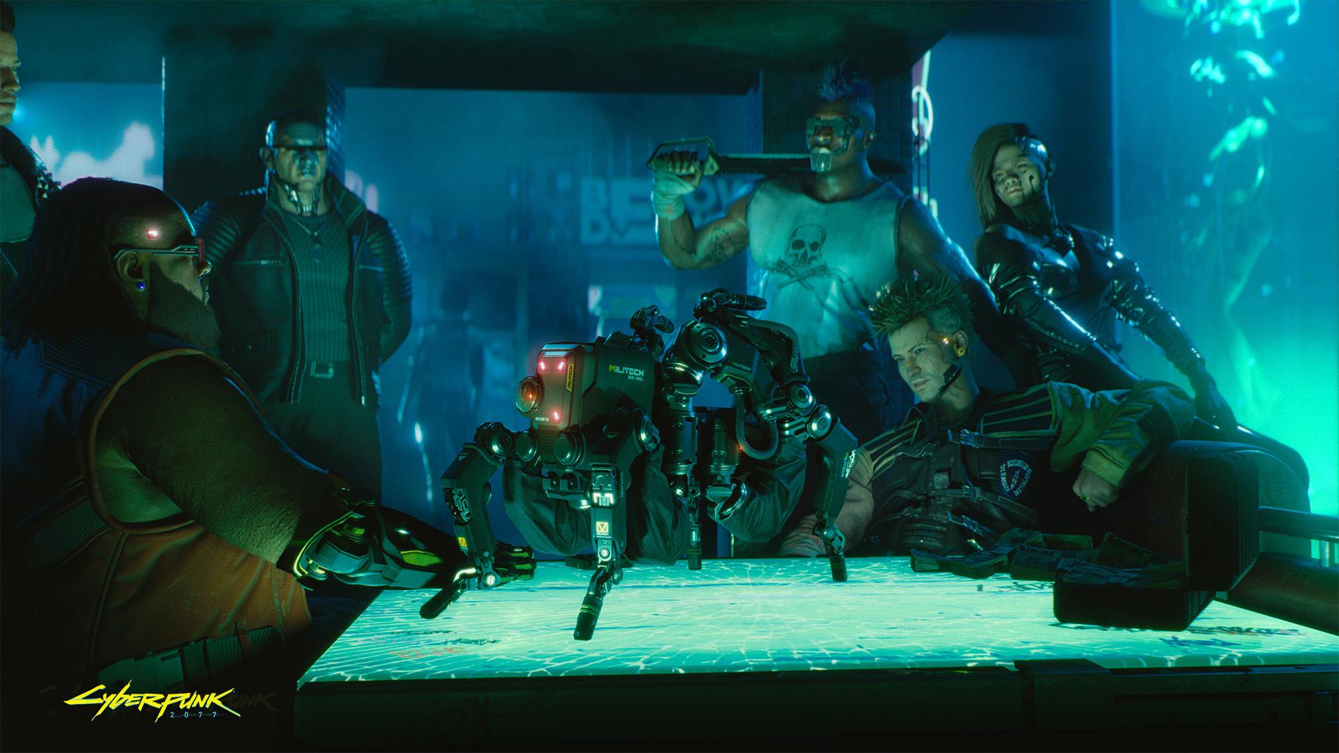 Cyberpunk 2077 wallpaper It's a deal