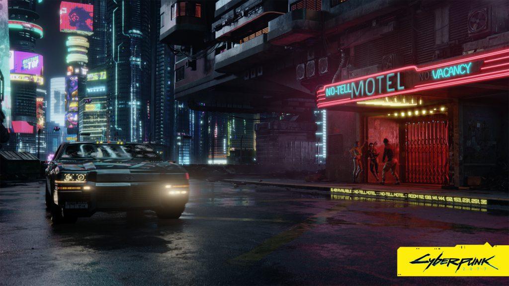 Cyberpunk 2077 wallpaper Now arriving at destination