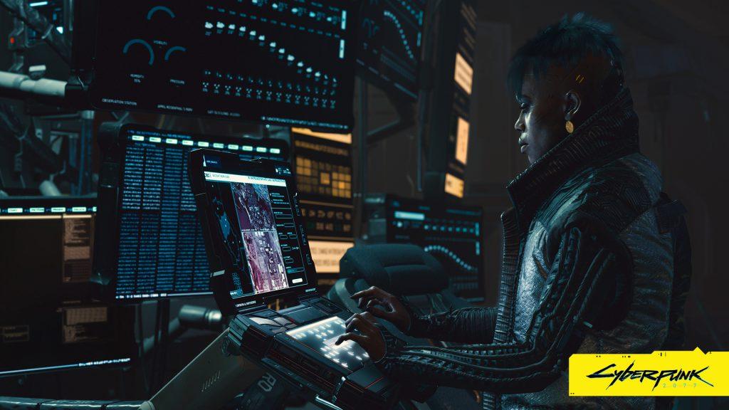Cyberpunk 2077 wallpaper Running the show