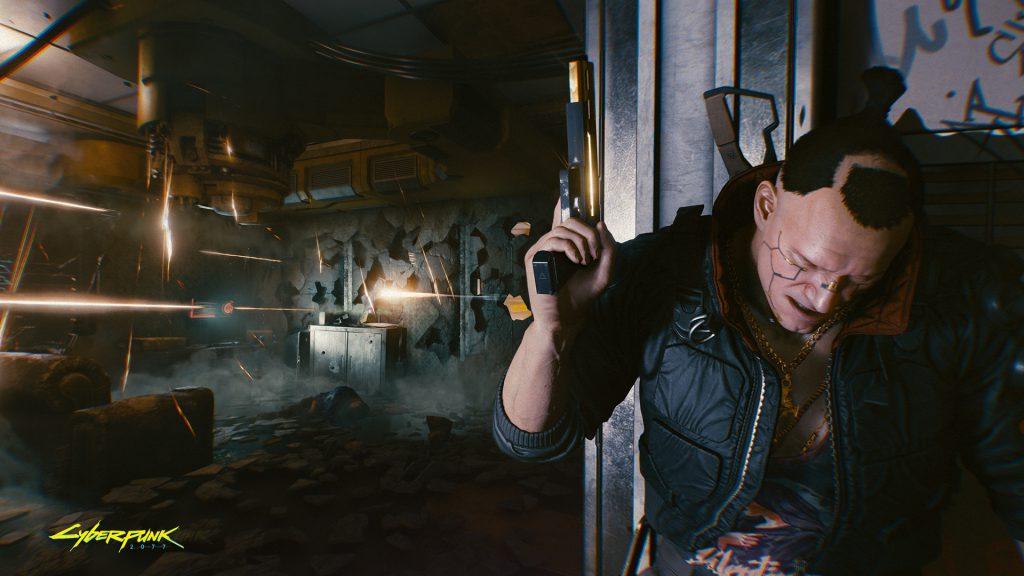 Cyberpunk 2077 wallpaper Shoot through walls