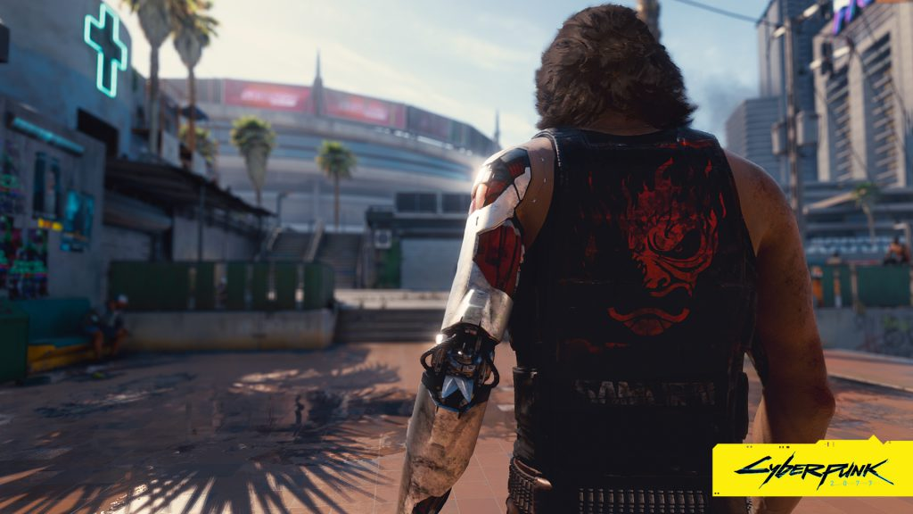 Cyberpunk 2077 wallpaper The man with the silver hand