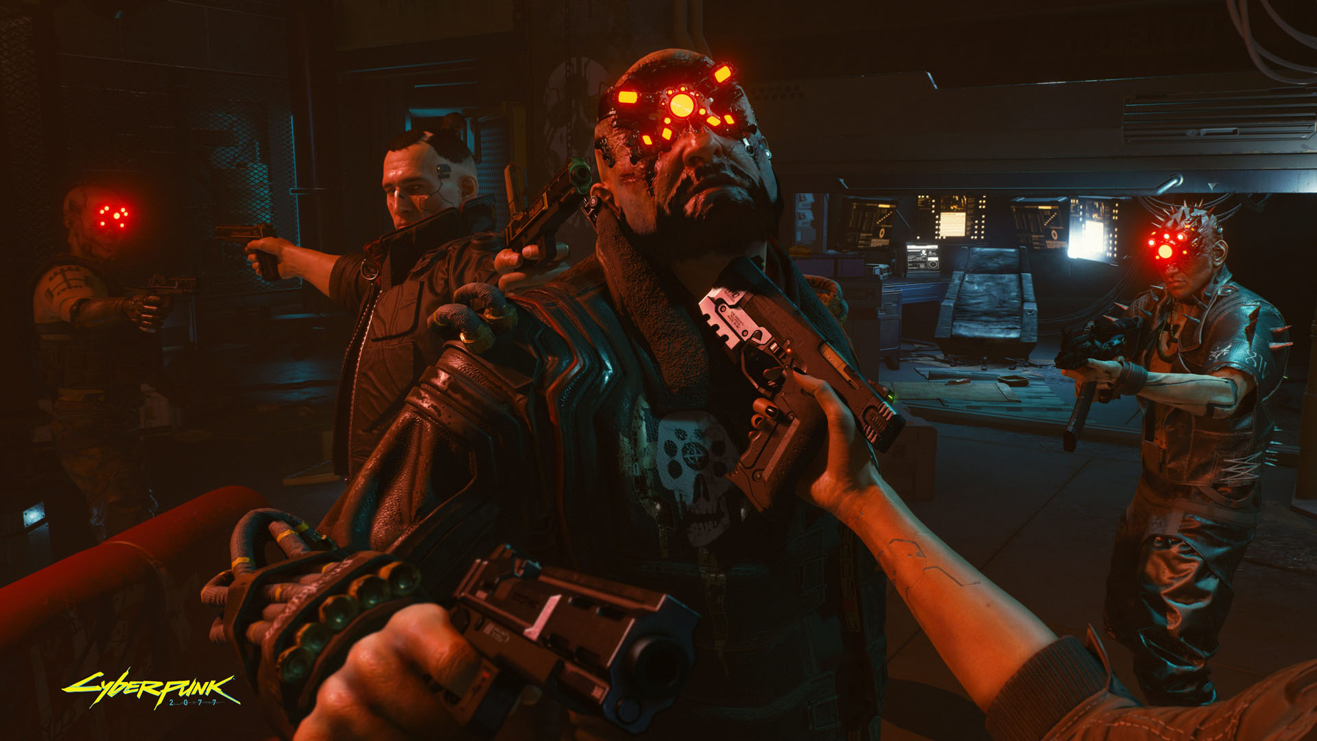 Cyberpunk 2077 Outnumbered but not outgunned