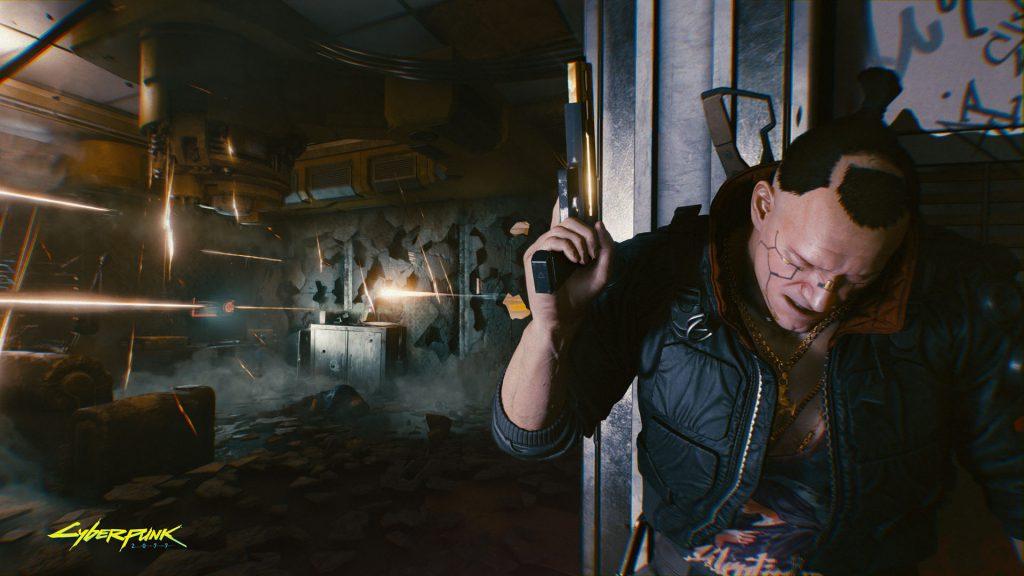 Cyberpunk 2077 Shoot through walls