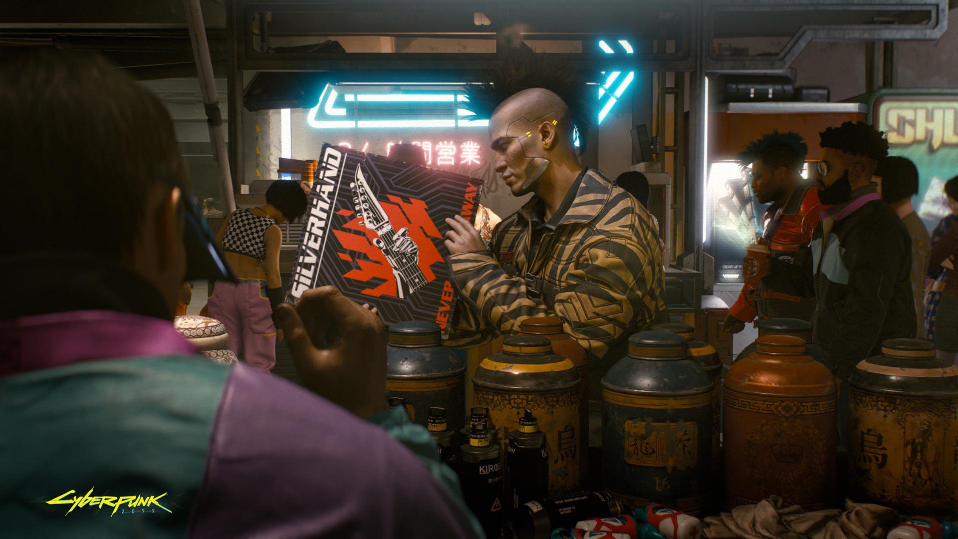 Cyberpunk 2077 Gotta know where to look