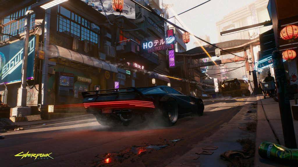 Cyberpunk 2077 High speed high stakes