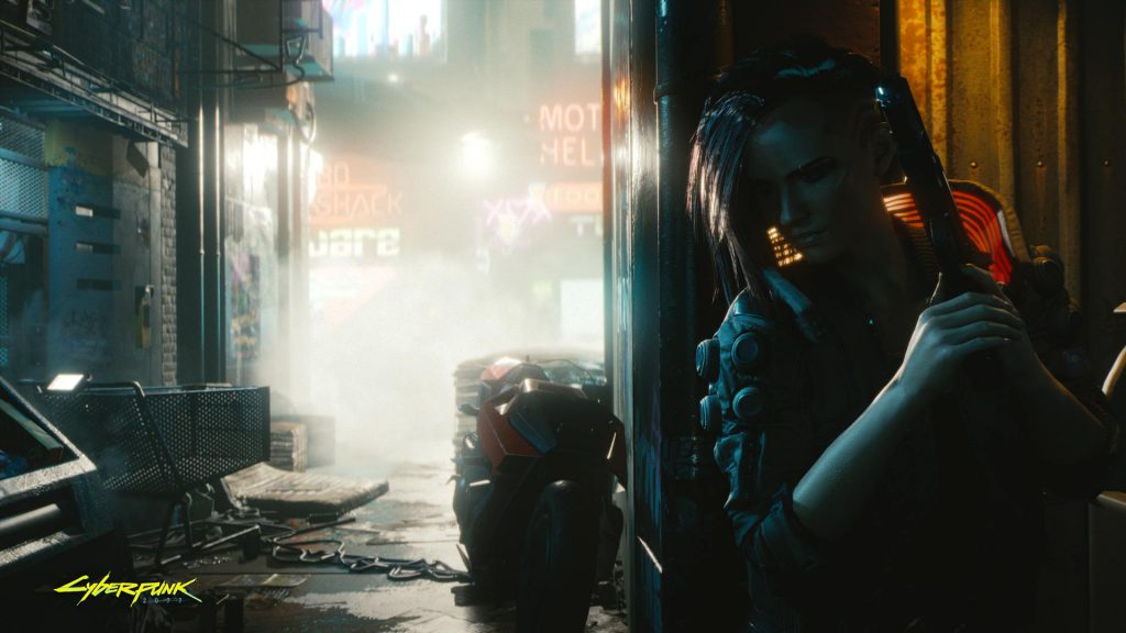 Cyberpunk 2077 Just around the corner