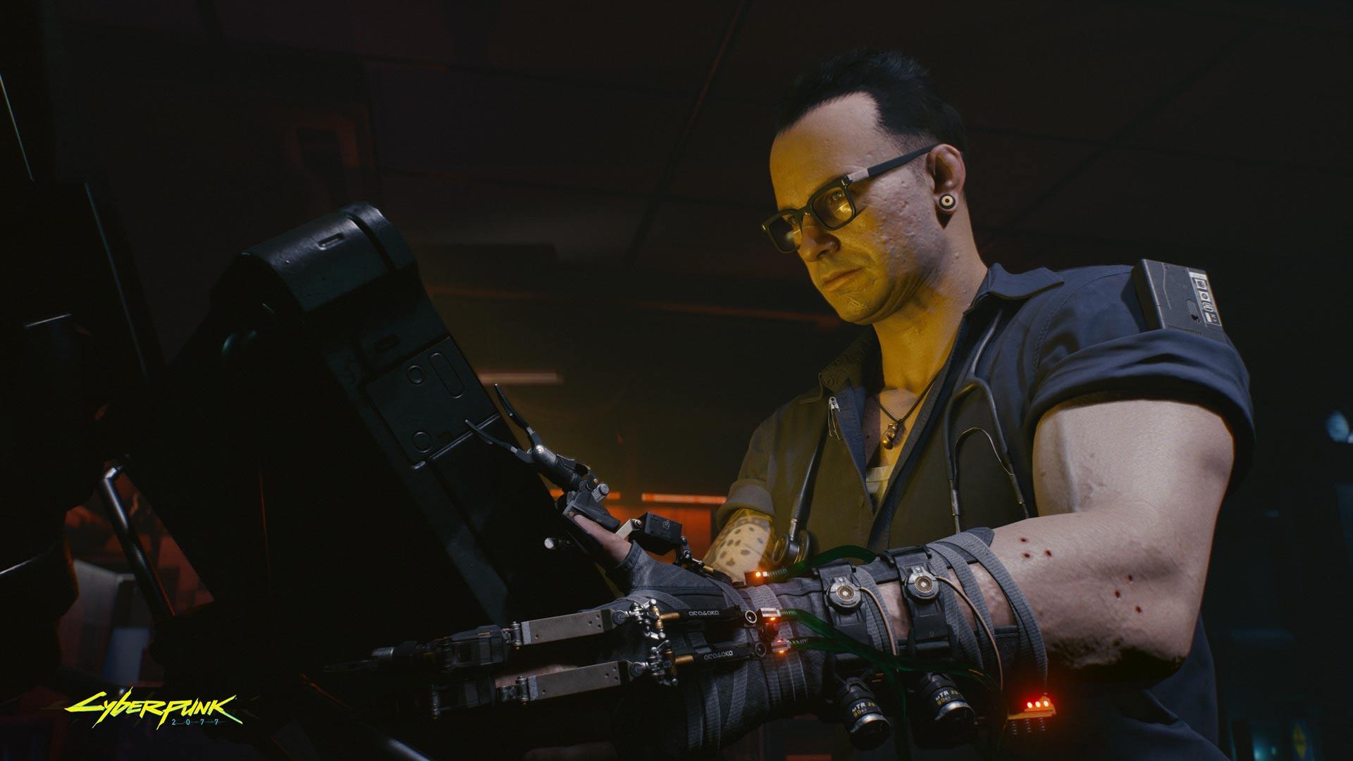 Cyberpunk 2077 Ripperdoc clinic