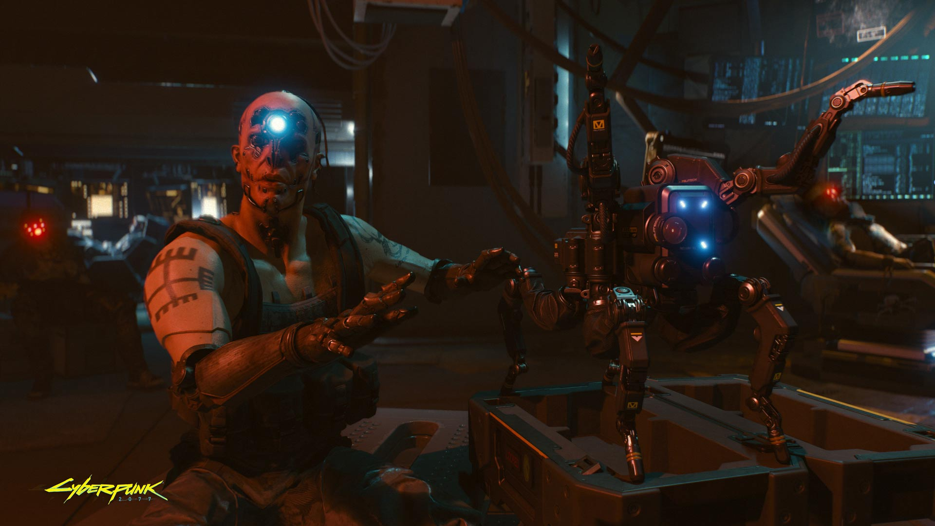 Cyberpunk 2077 The hottest tech in town
