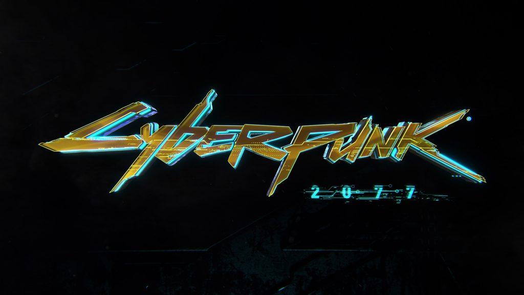 Cyberpunk 2077 wallpaper Trailer logo