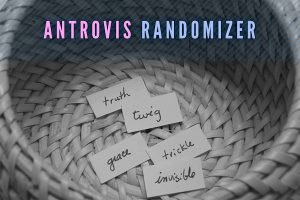 Изображение к записи: Рандомайзер слов — Antrovis Randomizer