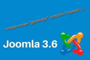 """Изображение к записи: Как убрать <meta name=""""generator""""> в Joomla 3.6"""