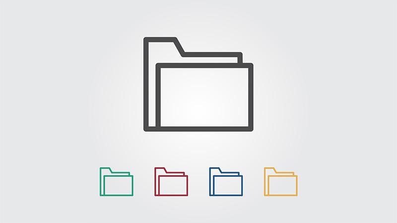 Как получить чистый список файлов в папке Windows
