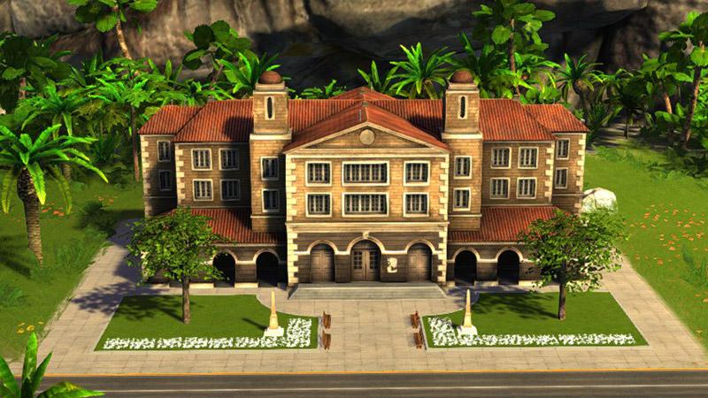 Здания в Tropico 5