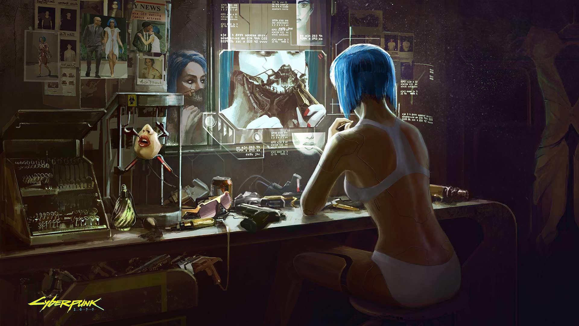 Cyberpunk 2077 Обои на рабочий стол, скрины, концепт арт
